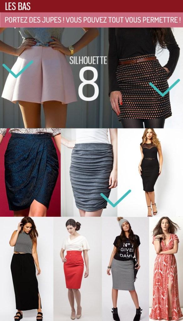Comment s'habiller avec une silhouette en 8 ? poitrine généreuse ...