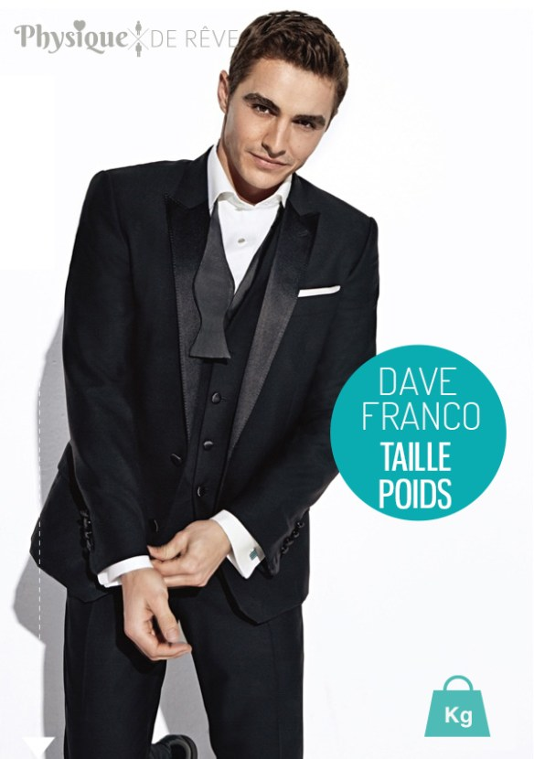 dave-franco-taille-poids-mensurations