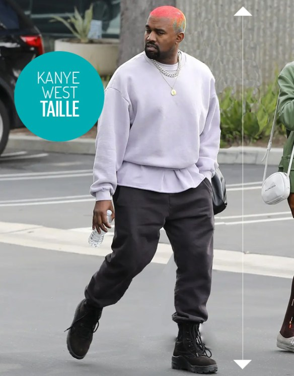 Kanye West taille combien mesure