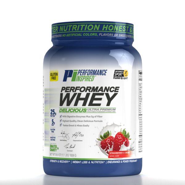 Performance Whey Protein Powder - Keto Friendly Low Net Carb