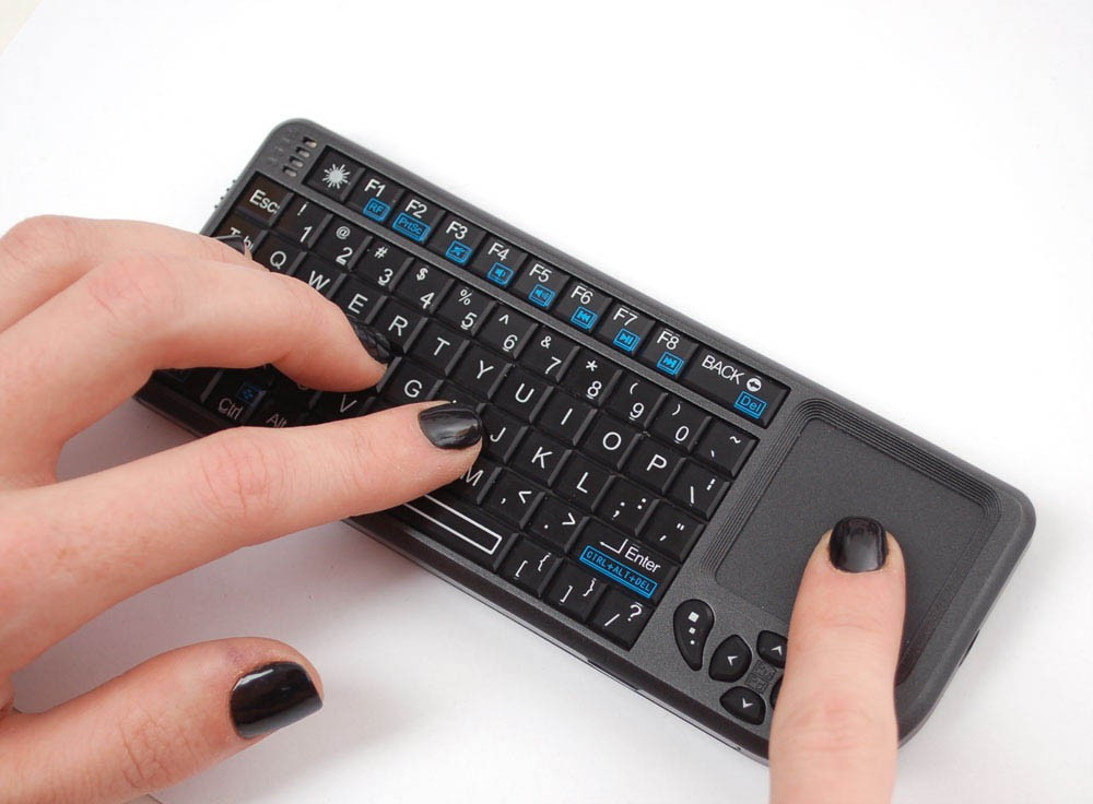 Tv Halterung Raspberry Pi - Drahtlose Tastatur - Wireless Mini Keyboard