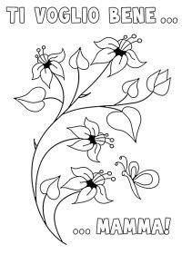 40 Disegni per la Festa della Mamma da Colorare ...