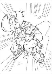 33 Disegni di Thor da Colorare