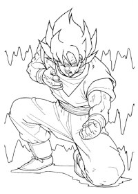 80 Disegni di Dragon Ball Z da Stampare e Colorare ...