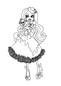 93 Disegni delle Monster High da Colorare | PianetaBambini.it