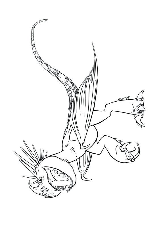33 Disegni Di Dragon Trainer 1 E 2 Da Colorare
