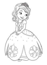 Disegni Da Colorare E Stampare Per Bambini Principessa ...