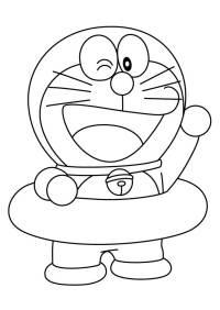 28 Disegni di Doraemon da Colorare