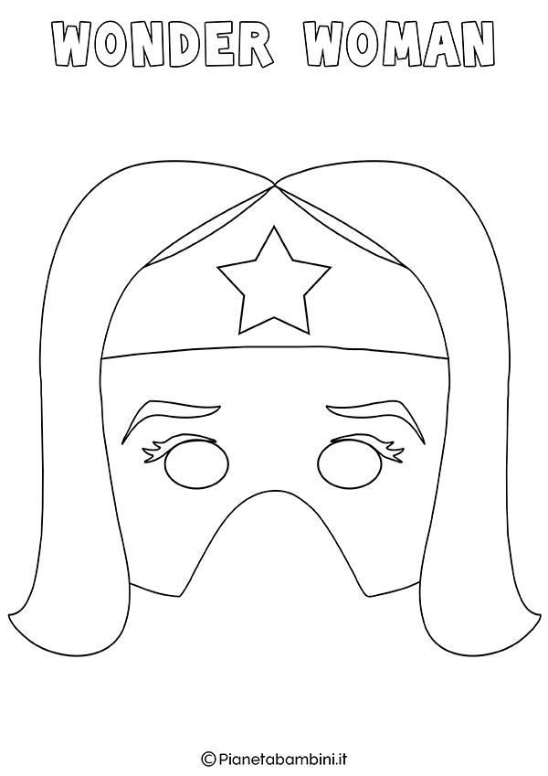 Disegno Di Wonder Woman Da Colorare Per Bambini Auto Electrical