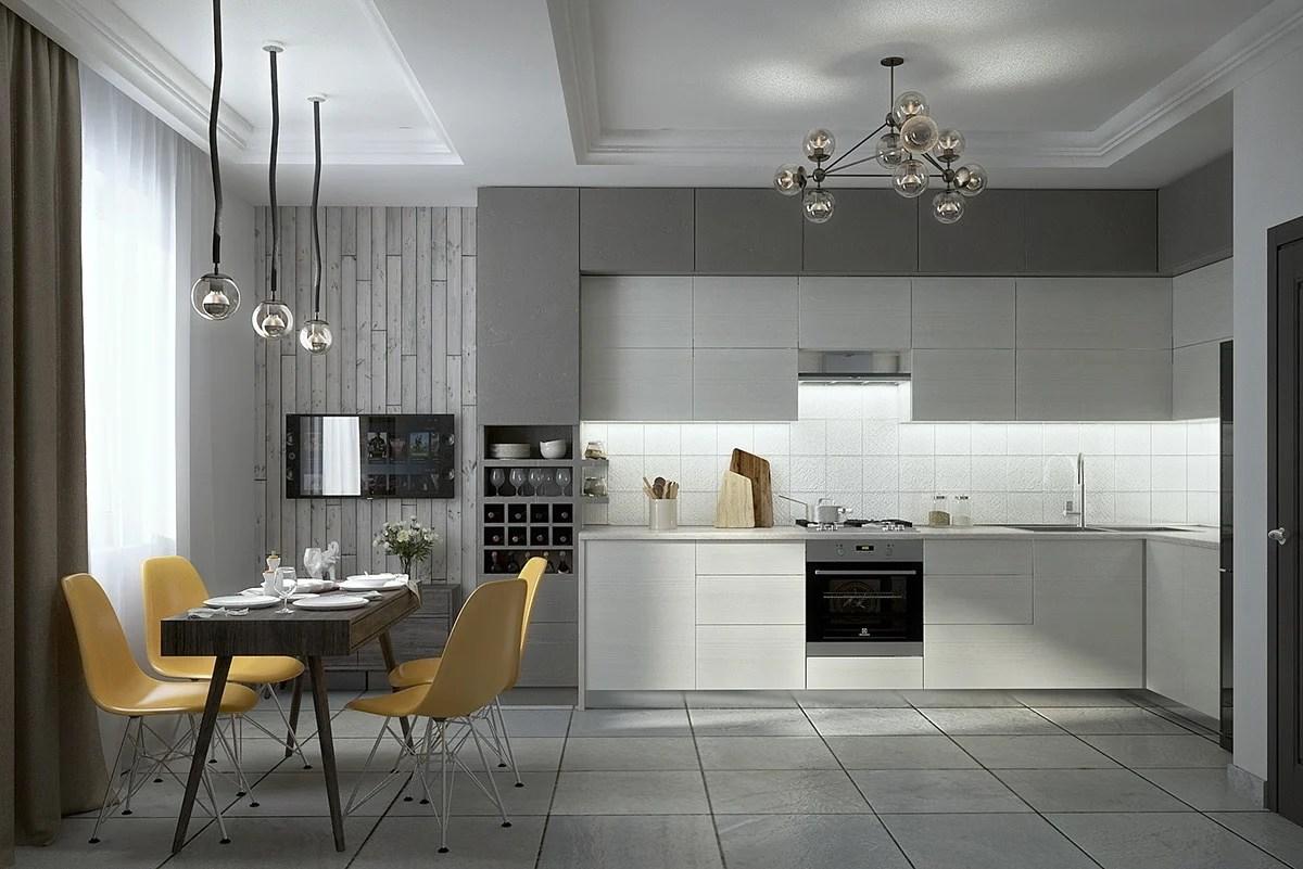 Tinte Pareti Cucina | Idee Per Dipingere Pareti Cucina Gallery Of ...