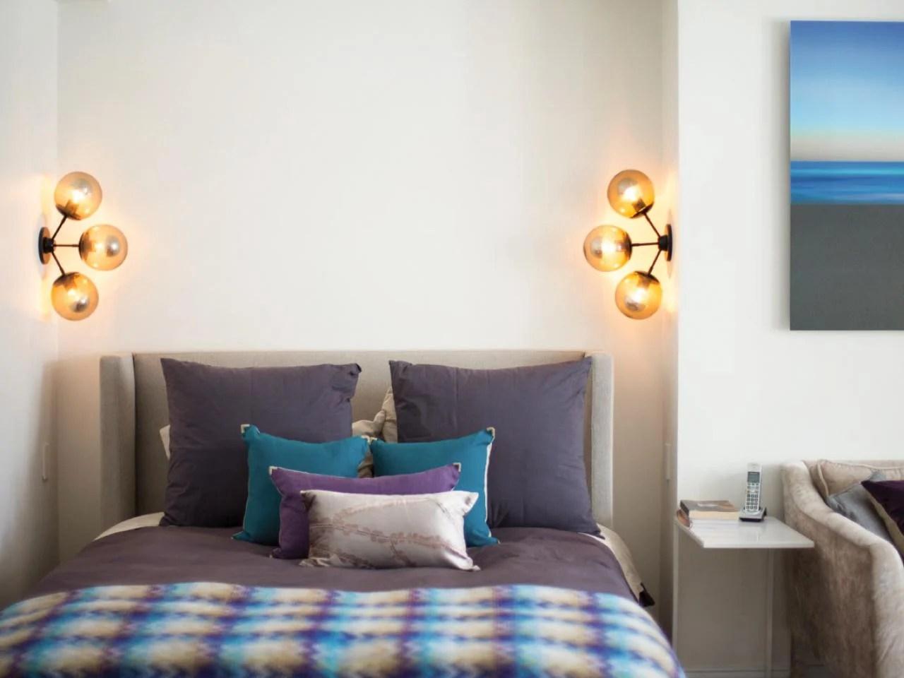 Applique camera da letto classica illuminazione camera da letto