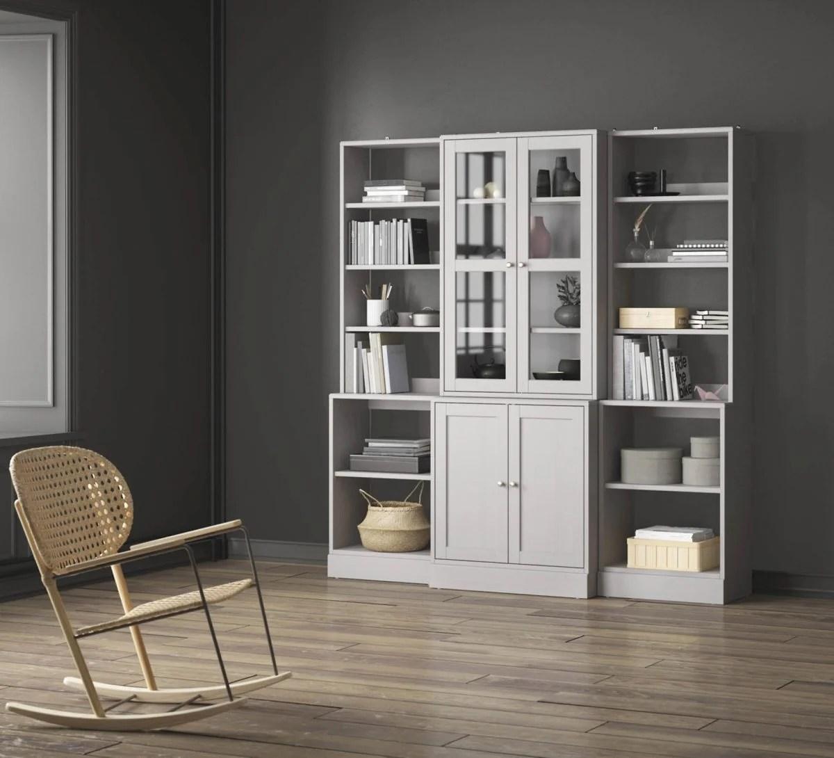 Ikea scaffali soggiorno mensole per soggiorno moderno mobili ingresso con specchiera - Mobili componibili per soggiorno ikea ...