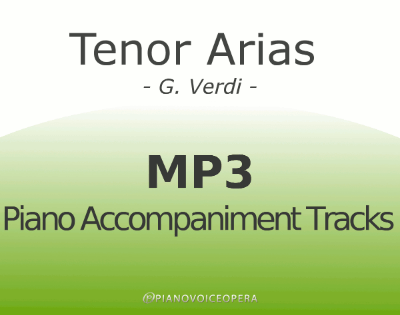 Tenor arias by verdi