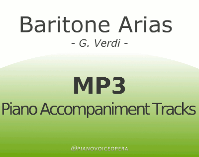 Baritone arias by Verdi