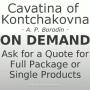 Cavatina of Kontchakovna