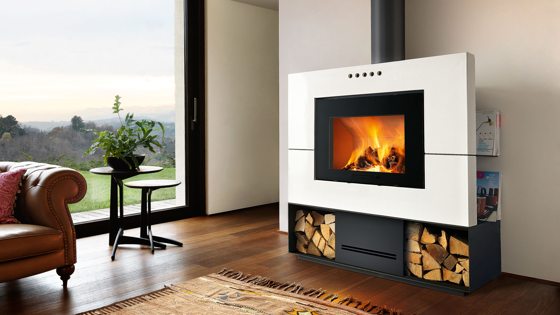 Caminetto In English Fireplaces And Stoves Piazzetta