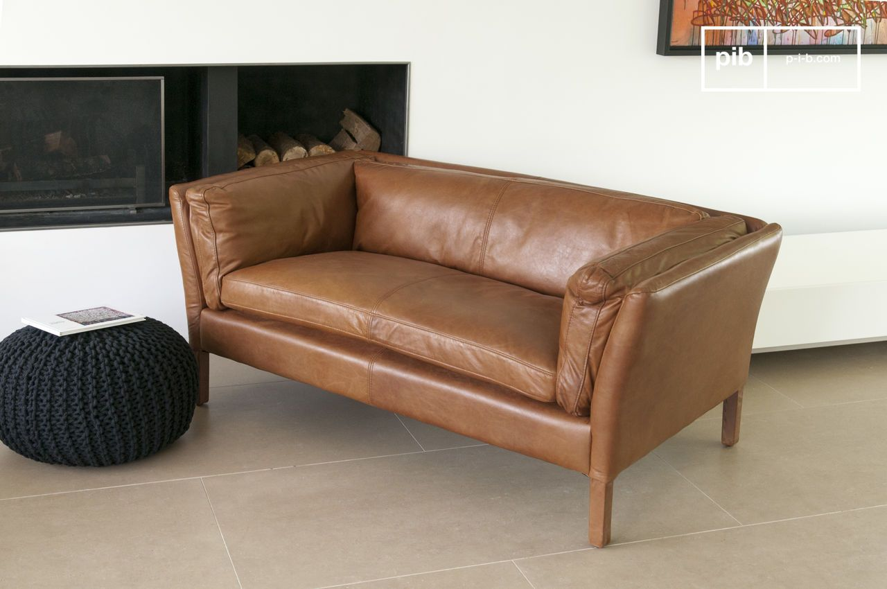 Vintage Ledersofa Hamar Leather Sofa