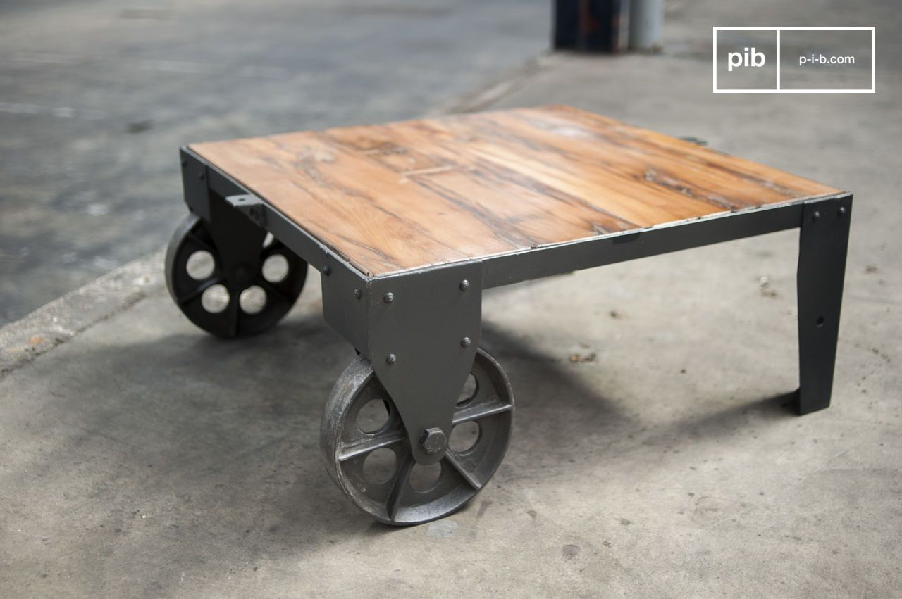 Couchtisch Railway Railroad Cart Coffee Table