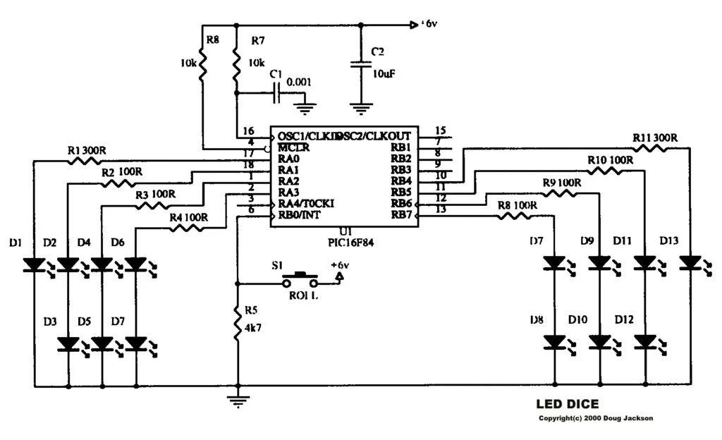 dice schematic