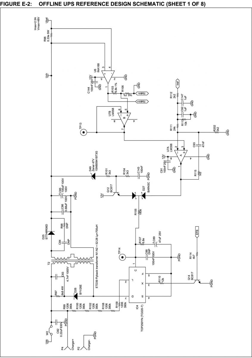 block diagram of ups circuit