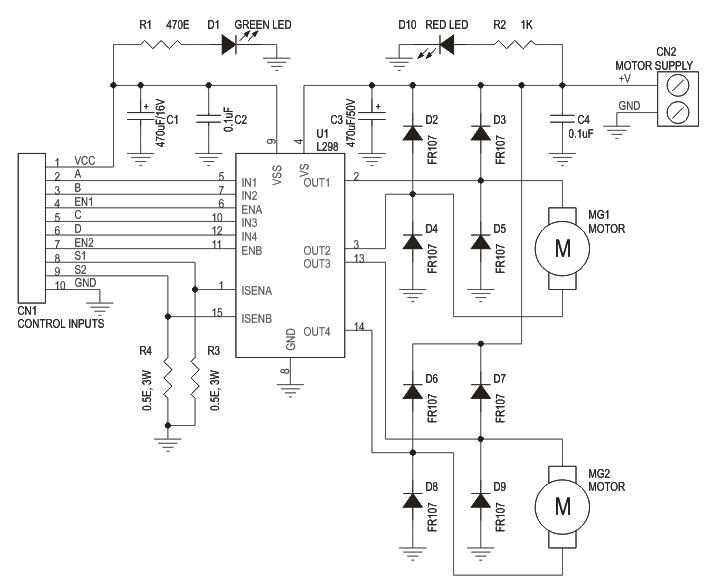 l298 circuit