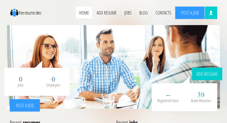 resume database access india