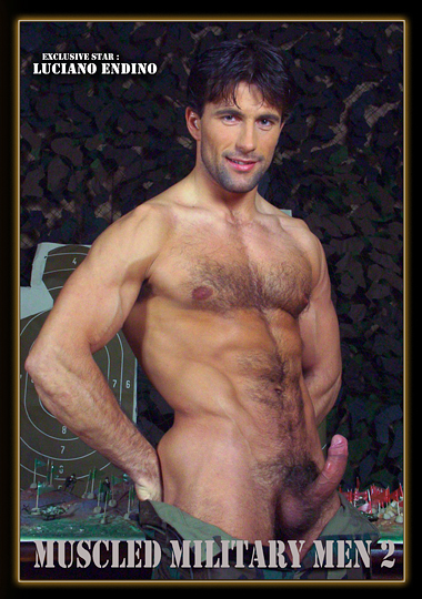 Muscled Military Men 2 cover