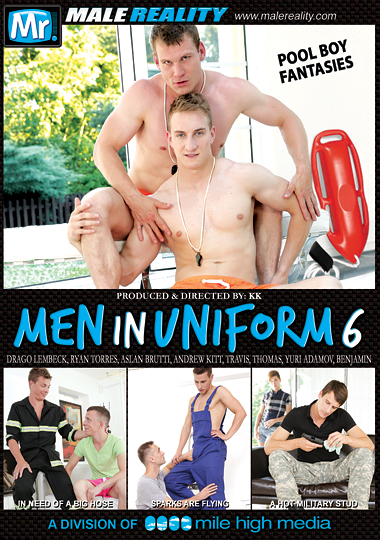 Men In Uniform 6 cover