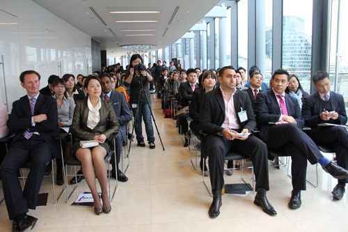 The bank sponsored \u201cMine Your Own Business\u201d event for young Chinese