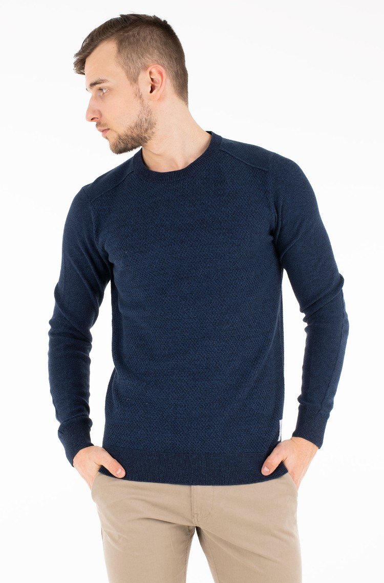 Tom Taillor Blue 2 Sweater 1008553 Tom Tailor Mens Knitwear Denim Dream E Pood