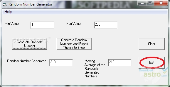 Random Number Generator Pro - latest version 2018 free download