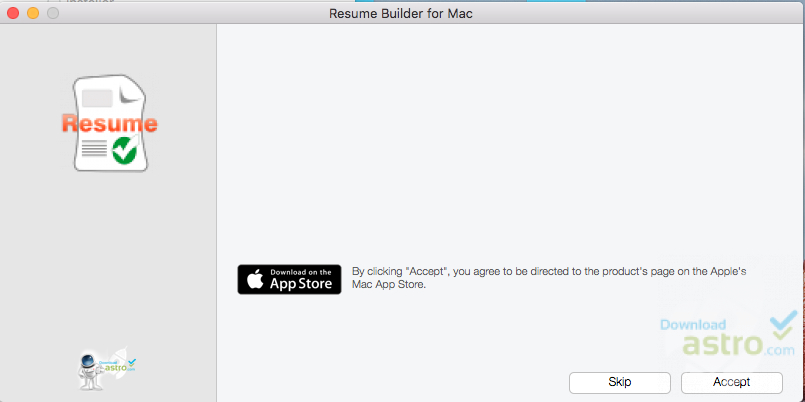 Resume Builder for Mac - latest version 2018 free download - Mac Resume Builder