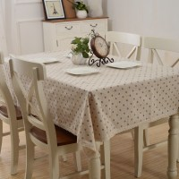 Country Style Floral Printed Table Covers Kitchen Dining ...