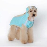 Dog Rain Coat Pet Jacket Puppy Pet Clothes Waterproof Coat ...
