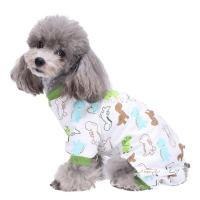 Pet Dog Pajamas Clothes Puppy Coat Jumpsuit Apparel Cotton ...