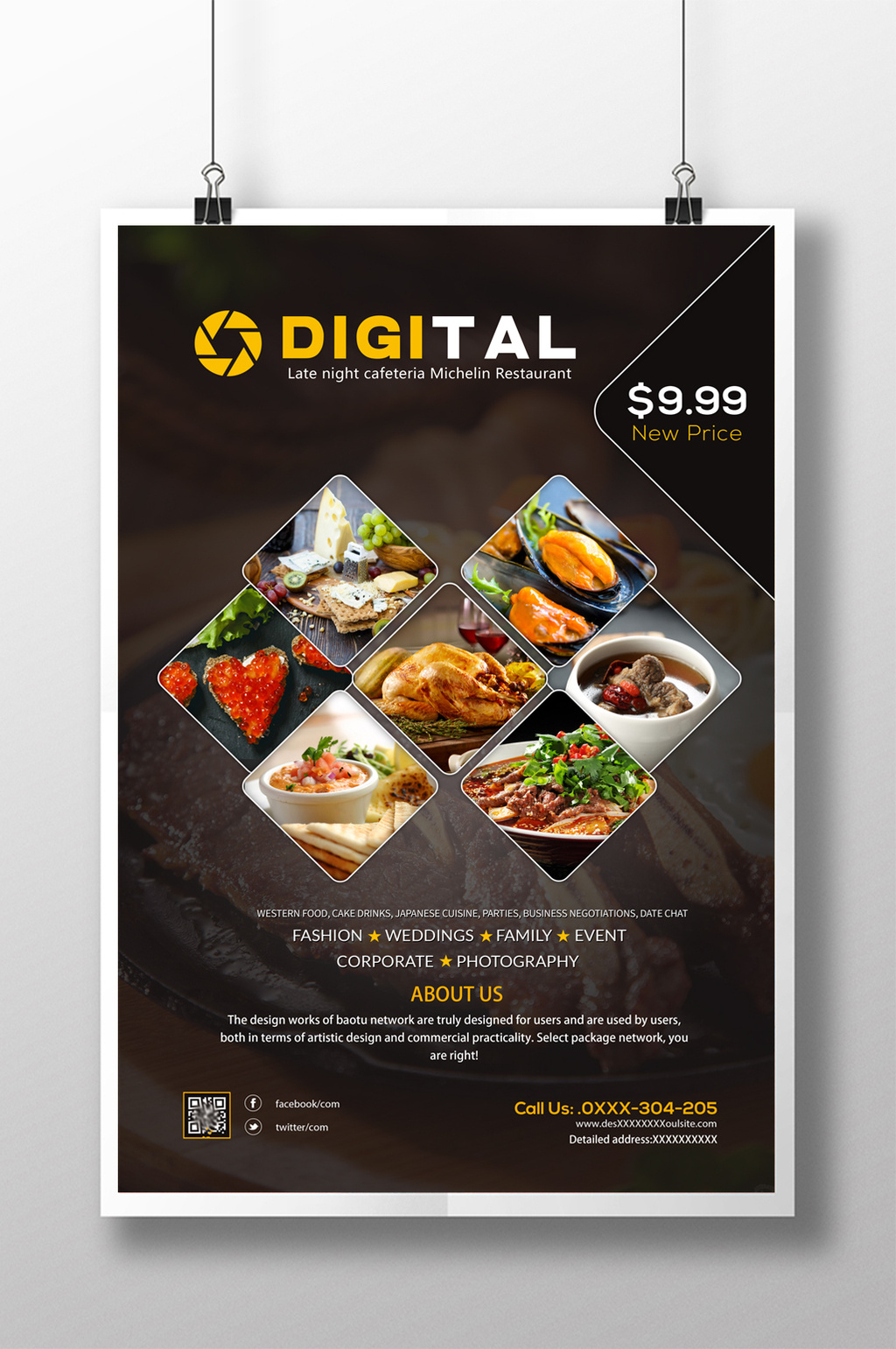 Poster Cuisine Food Poster Templates Psd Vectors Png Images Free Download Pikbest