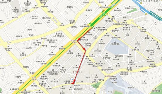 Chou cake House(슈케익하우스)地圖