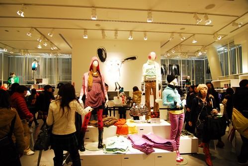 日本時尚界最火紅的話題   H&M在東京上陸