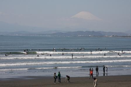 """裝肖仔的""""好夏天""""的寒春….看見戴雪的富士山耶!!"""