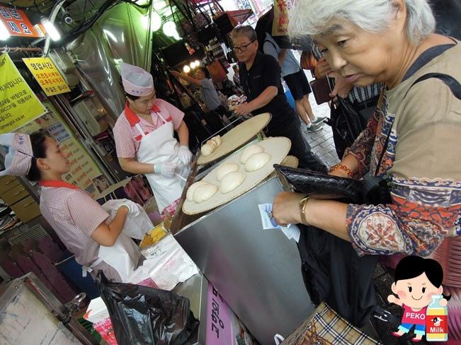 南大門市場早餐 南大門宵夜 南大門小吃 海鮮煎餅 韓順子刀削麵 卡梅谷包子  南大門營業時間18