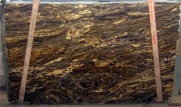 Hurricane Dark Granite Slabs From Canada - Stonecontact.Com