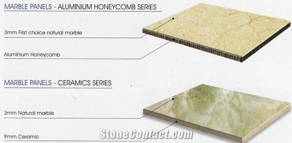 Super-Thin Laminated Marble Tile;Compound Marble From China