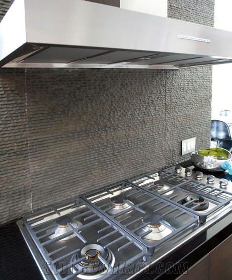 grey basalt kitchen backsplash designs united states rock kitchen backsplash river rock pebbles create unique backsplash