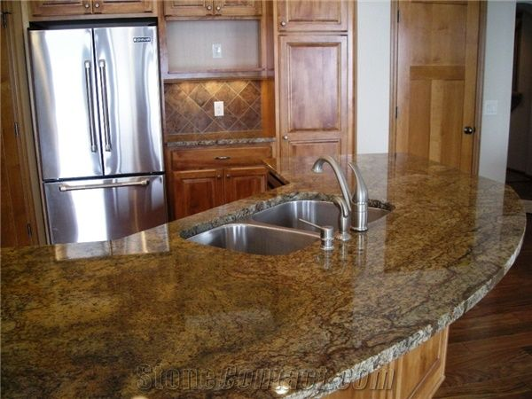 Antique Persa Brown Granite Kitchen Countertop From United