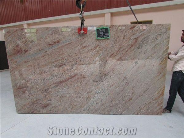 Rose Wood Granite Slabs Pink Granite Floor Covering