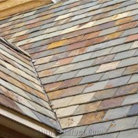 Multicolor Slate Roof Tiles,Rusty Roofing Slate Tiles ...