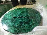 Malachite Table Top Design/Semi Precious Table Tops/Green ...