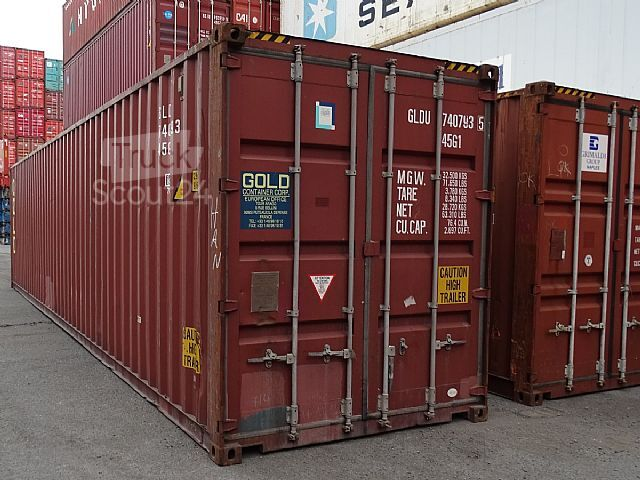 Container Kaufen Hamburg Sonstige/other 40 Ft Hc Lagercontainer Hochseecontainer ...