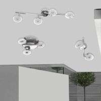 12W 18W 24W Drehbar LED Deckenlampe Wohnzimmer ...