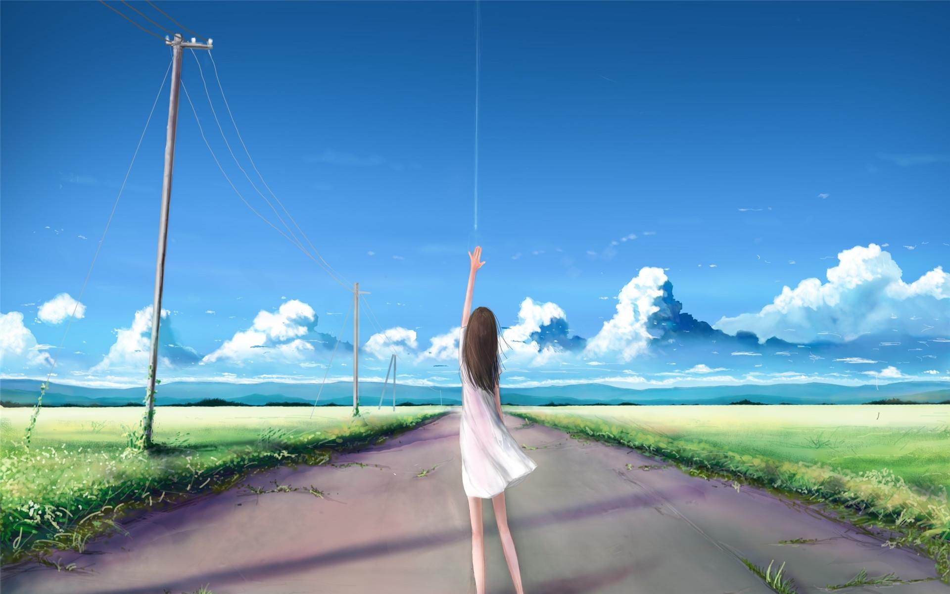 Anime Video Wallpaper 好看的动漫场景人物唯美电脑壁纸图片 卡通动漫 壁纸下载 美桌网